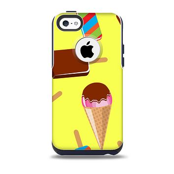 3d Icecream Treat Collage Skin for the iPhone 5c OtterBox Commuter Case