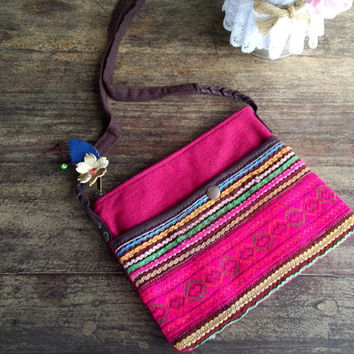 Little,Tribal Bag, Tribal, Purse Hobo, Hippie, Boho Bag, Tribal, Purse Hobo, Hippie, Sling, Shoulder, Beach bag, Boho, Boho Bag
