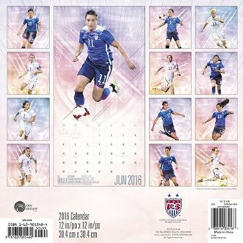 U.S. Women's National Soccer Team Wall Calendar (2016)