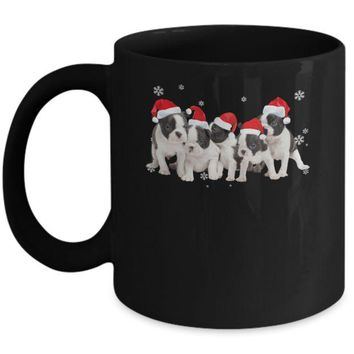 DCKIJ3 Funny Pitpull Puppies Christmas Dog Gift Mug