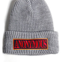 The Anonymous watch cap (cool grey)