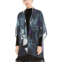 Disney Alice In Wonderland Mad Tea Party Kimono