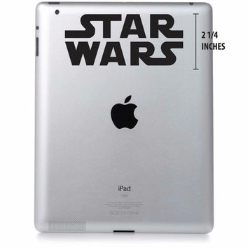 Star Wars Logo Ipad Decal Vinyl Laptop Sticker
