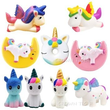 Intelligent Dropshipping Cute Kawaii Soft Squishy Slow Rising Squeeze Kid Toys Funny Joke Toy For Children Gift Anti-stress Toys Toys & Hobbies