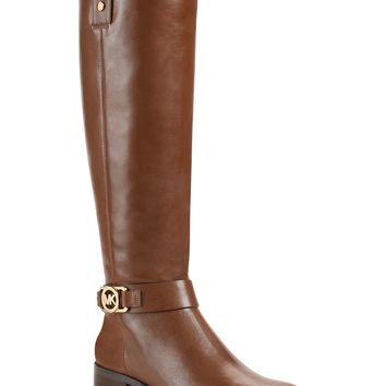MICHAEL Michael Kors Charm Wide Calf Riding Boots - Wide Calf Boots - Shoes - Macy's