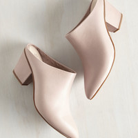 Seychelles Got the Answer Heel in Blush | Mod Retro Vintage Boots | ModCloth.com