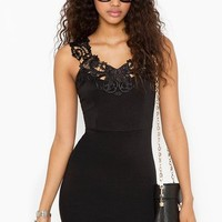 Camille Crochet Dress in  Clothes at Nasty Gal