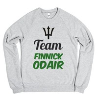 Team Finnick Odair-Unisex Heather Grey Sweatshirt