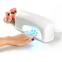 [2nd Generation] FLYMEI® 2 in 1 LED & UV Nail Lamp Light Nail Dryer - Cure both UV and LED Nail Gel - For Acrylic,CND, Shellac Curing, Soak off, Harmony Gelish, IBD etc - For Nail Salons and DIY home