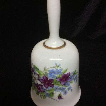 West Germany Porcelain Hand Painted Bell