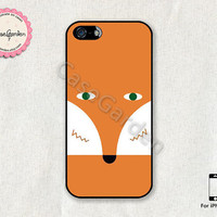 iPhone 5 Case, iPhone 5s Case, iPhone Case, iPhone Hard Case, iPhone 5 Cover, iPhone 5s Cover, Cute Fox