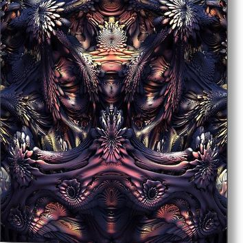 Homage to H.R. Giger - 36 x 36 inch Metal Print by Lyle Hatch @ Fine Art America