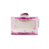 Butterfly Sequin Clutch
