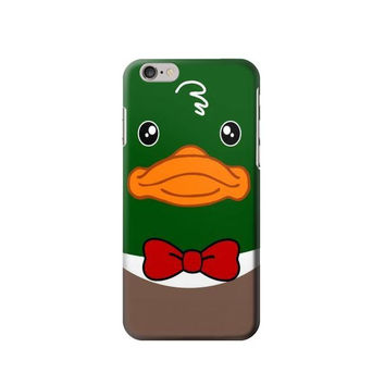 P2762 Green Head Mallard Duck Phone Case For IPHONE 6S