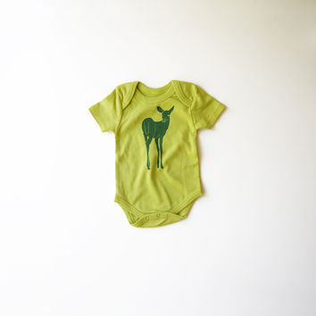 Be A Deer Organic Bodysuit