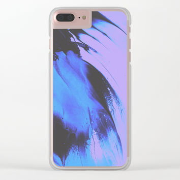 Don't Let Go Clear iPhone Case by duckyb
