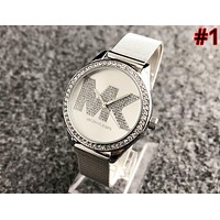 MK 2019 new street fashion simple waterproof men and women quartz watch #1