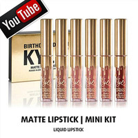 Kylie Jenner Limited Birthday Edition Matte Liquid Lipstick Mini Kit - Brand New