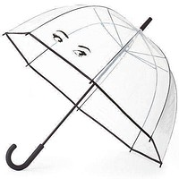 Clear Umbrella in Winking Eyes by Kate Spade New York