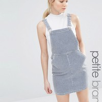 New Look Petite Stripe Pinny Dress