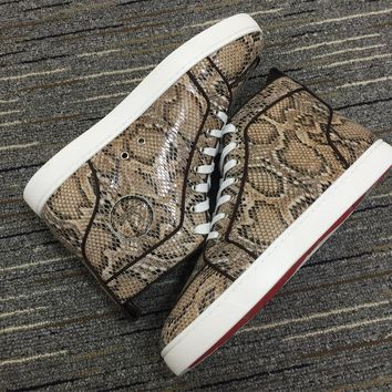 Christian Louboutin Cl Louis Orlato Sneakers Reference 542 - Best Online Sale