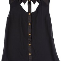 XOXO Juniors Front Cut Out Shirt