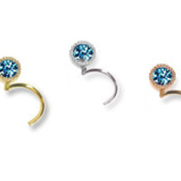 Maria Tash gold and diamond body jewelry, necklaces, rings, earrings