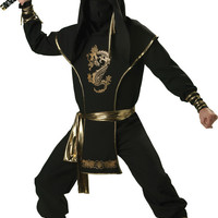 men's costume: ninja warrior | medium