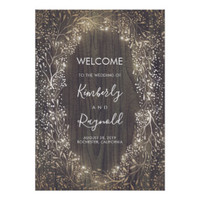 Rustic Gold Baby's Breath Flowers