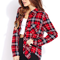No Fuss Plaid Shirt