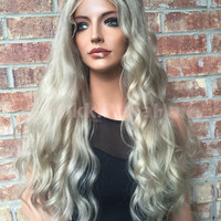 Human Hair Multi Parting Full Lace Wig -Jessica