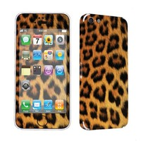 SkinGuardz Protective Vinyl Decal Sticker Skin for Apple iPhone 5C - (Yellow Cheetah)