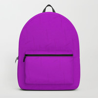 Electric Violet Backpack by deluxephotos