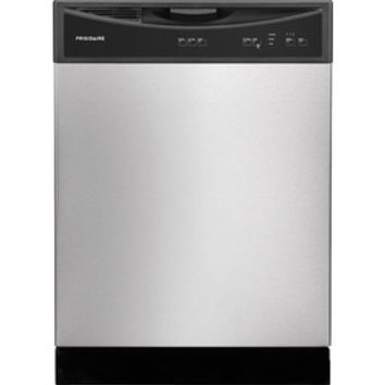 Shop Frigidaire 60-Decibel Built-In Dishwasher (Stainless steel) (Common: 24-in; Actual: 24-in) at Lowes.com