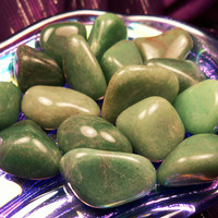 "BUDDSTONE aka ""African Jade"" or ""Verdite"" Aids in Accessing Past Lives & Akashic Records - Enhances Patience for Caregivers"