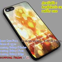 Tinkerbell's Quote iPhone 6s 6 6s+ 6plus Cases Samsung Galaxy s5 s6 Edge+ NOTE 5 4 3 #cartoon #disney #animated #tinkerbell #comic dl5