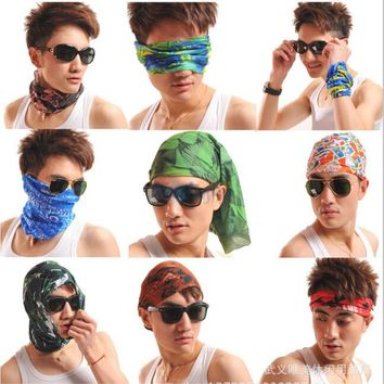 sun protection mask bandana magic women men turban headband head band scarf women female set neckerchief kerchief neck scarves