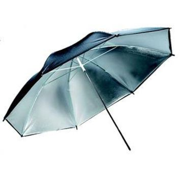 "SCU40S 40"" Black/Silver Umbrella"