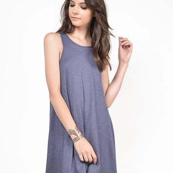 Simple Lightweight Sleeveless Dress - Large