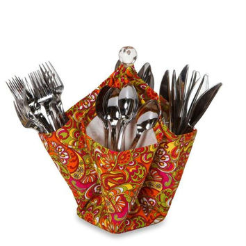 Utensil & Condiment Caddy - Gerry's Jubilee Print