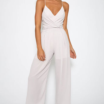 McKnight Jumpsuit - Grey