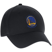 Golden State Warriors Black Mitchell & Ness Cotton Flex Fit Slouch Hat Large/X-Large