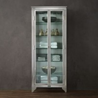 1930s Laboratory Stainless Steel Storage Cabinet Medium |  | Restoration Hardware