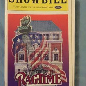 Ragtime The Musical Playbill
