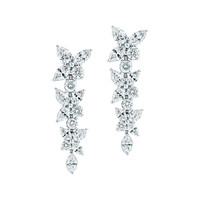 Tiffany & Co. - Tiffany Victoria®:Mixed ClusterDrop Earrings