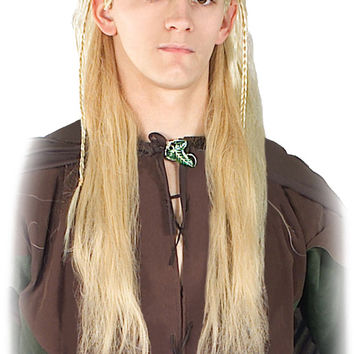 costume accessory: lord of rings legola wig