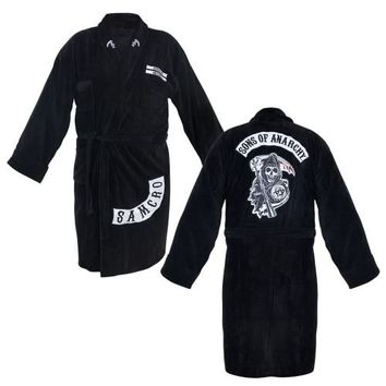 The Sons of Anarchy Samcro Adult Bathrobe - Sons of Anarchy - | TV Store Online