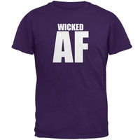Wicked AF Purple Adult T-Shirt