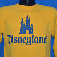60s Disneyland Magic Kingdom Sweatshirt Small