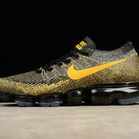 Nike Air VaporMax Flyknit 849558-006 Gold-Black